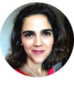 Professora de francês Fabiana